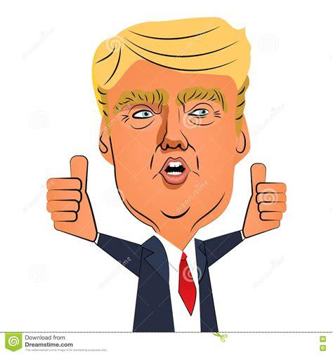 Donald Hairclip august 10 2016 donald thumb up editorial stock