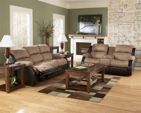 ashley furniture sofa set presley cocao reclining sofa set signature design by