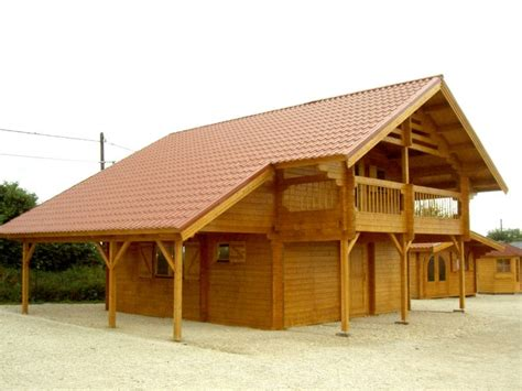 Faire Un Chalet En Bois by Construire Chalet Bois Jfr Nature Et Bois Chalet En Bois