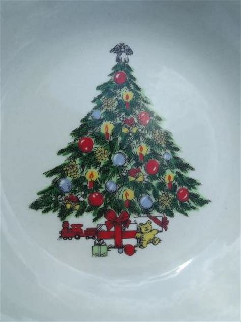 mount laurel christmas tree collection trashpro vintage christmas tree holiday dishes mt clemens pottery