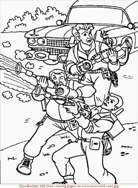 ghostbusters car coloring pages ghostbusters coloring pages coloring pages of ghostbusters