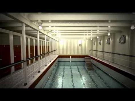 titanic film pool titanic ii swimming pool youtube