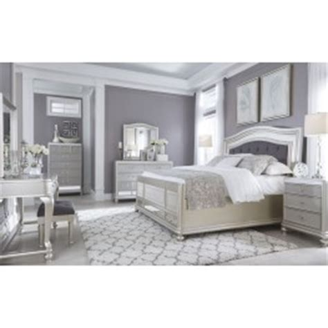 coralayne silver bedroom set from b650 157 54 96