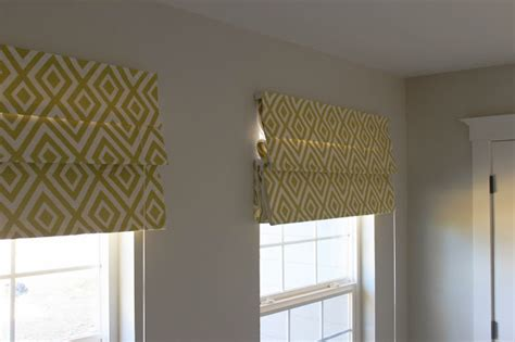 How To Make Roman Shades No Sew - how to make no sew roman shades interior design small home style modern living
