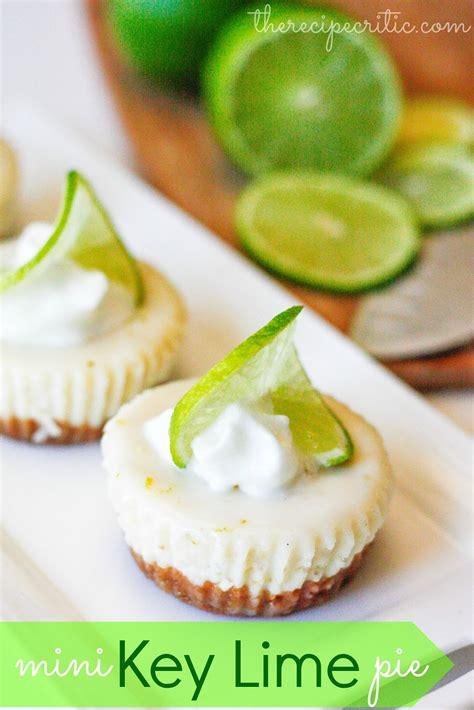 mini key lime pie the recipe critic