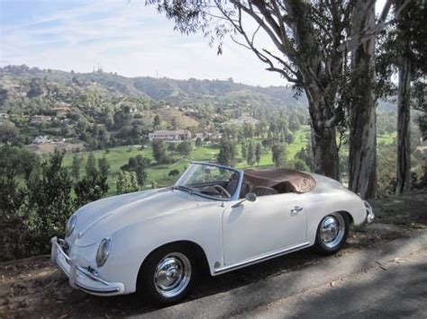 porsche convertible white 1959 porsche 356 white cabriolet buy classic volks