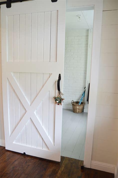 how to build a barn door for inside how to build a barn door beneath my