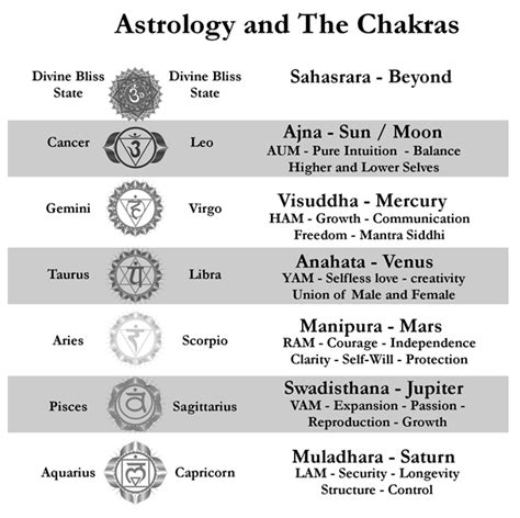 astrology and the chakras yoga evolution ॐ pinterest