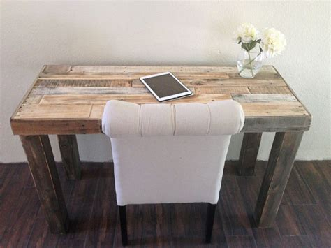 Small Rustic Desk Reclaimed Wood Modern Rustic Desk Work Table Laptop Station