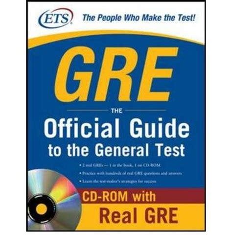 the official guide to the gre general test the official guide to the gre revised general test