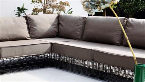 divanetti per esterno divano modulare per esterni in acciaio verniciato