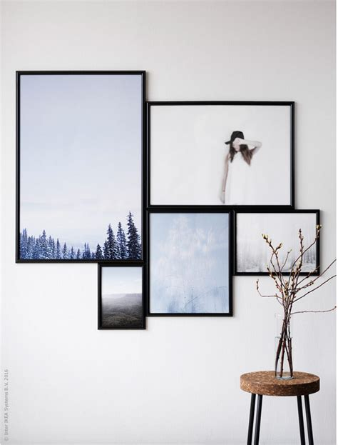 hang art hang art like an ikea stylist poppytalk