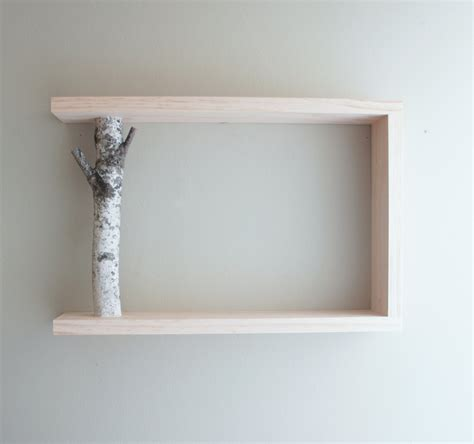 White On The Shelf by White Wooden Shelf With Gray Wooden Trunk Placed On The Gray Wall Of Give A Marvelous Look Of