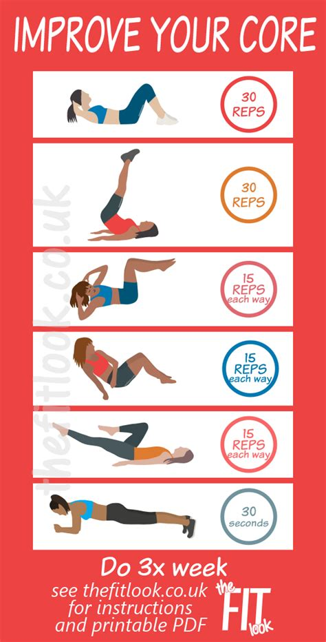 ab exercises and easy circuit to improve your