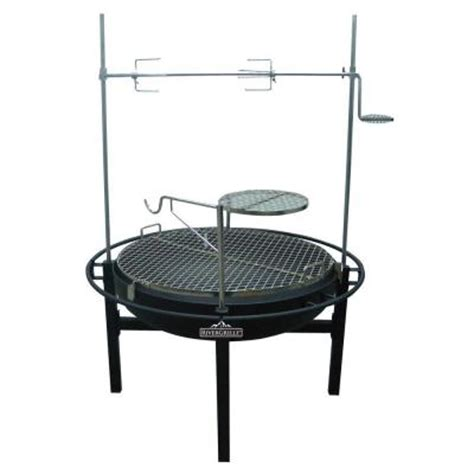 cowboy firepit rivergrille cowboy 31 in charcoal grill and pit