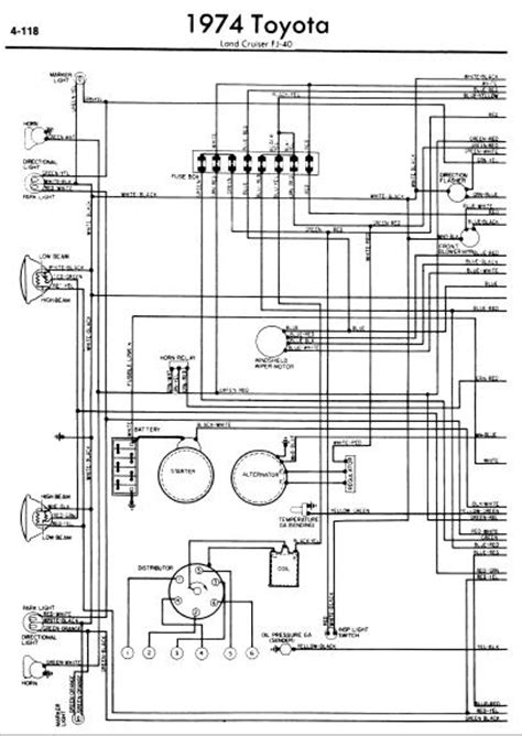 wiring diagram info toyota land cruiser fj40 1974