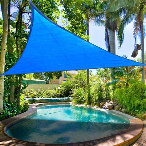 shade cover for patio sun shade sail uv top outdoor canopy patio lawn 11 5 16 5