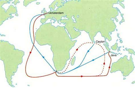 Voc Map voc shipping in galle