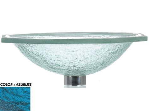 undermount glass sinks for bathrooms rg undermount glass sink azurlite rgw las114 azurlite