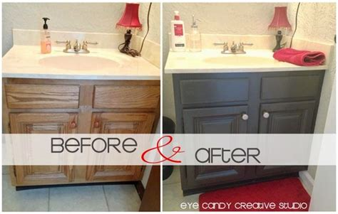 how to repaint bathroom cabinets eye candy creative studio home how to repaint a