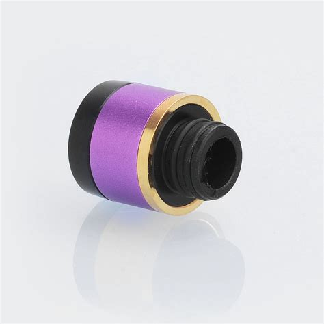 Violet Out 17mm replacement purple aluminum pom 17mm drip tip for uwell crown 3 tank