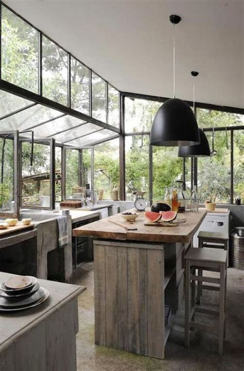 Greenhouse Inspired Kitchens Lots Of Windows And Light Kitchens With Lots Of Windows