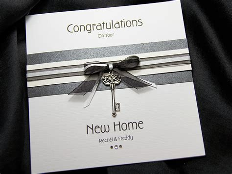 Handmade New Home Card Ideas - kensington handmade new home card