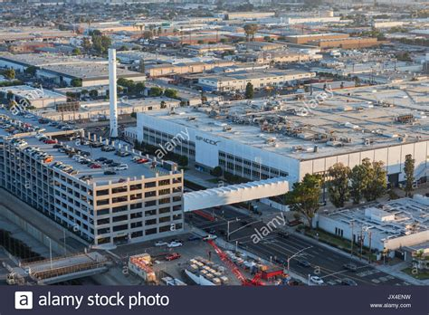 hawthorne california hawthorne california usa august 7 2017 aerial view of the stock photo 153763397 alamy