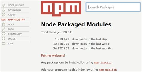simple node js module les modules node js et npm des applications ultra