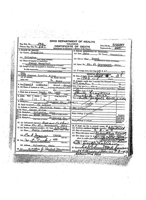 Pickaway County Ohio Marriage Records Marriages And Children Of H Kennedy 1846 1935