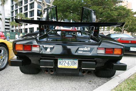 Lamborghini Countach Black Black Lamborghini Countach 16 Madwhips