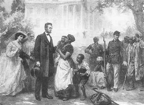what did abraham lincoln believe about slavery thoughtful social studies
