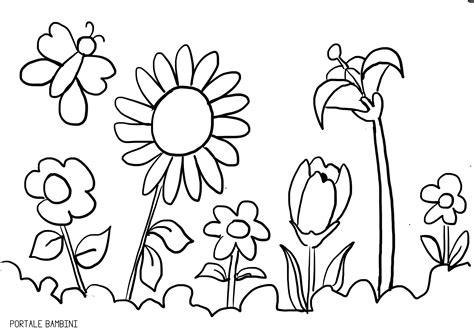 fiori disegni da colorare per bambini disegni di primavera da colorare portale bambini
