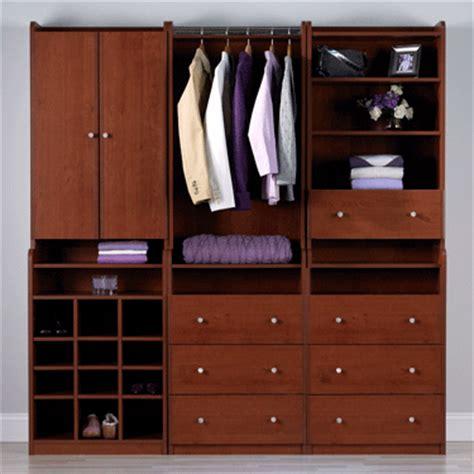 Prefabricated Closet Organizers Ameriwood Modular Closet Storage Hutch Cherry 70602rp