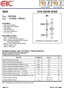 avalanche diodes with built in thyristor avalanche diode datasheet 28 images avalanche diode datasheet 28 images dsa17 16a datasheet
