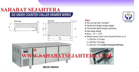 Chest Freezer Modena Md 20w 2 Fungsi Modena Md 20 sahabatsejahtera stainless steel counter chiller
