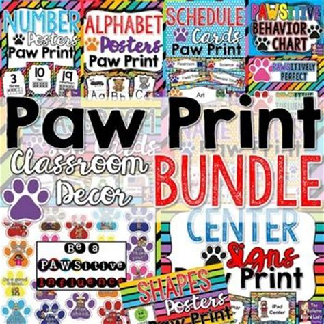 119 Best Images About Team Prather On Pinterest Paw Print Classroom Decorations