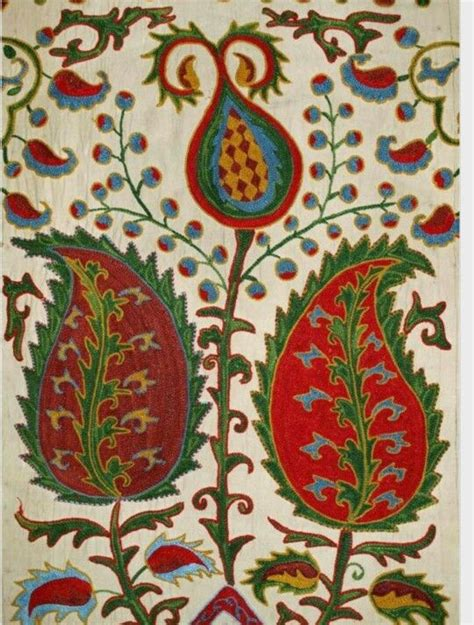 uzbek vintage suzani handmade embroidery sew et al pinterest 17 best images about suzani central asian embroidery on