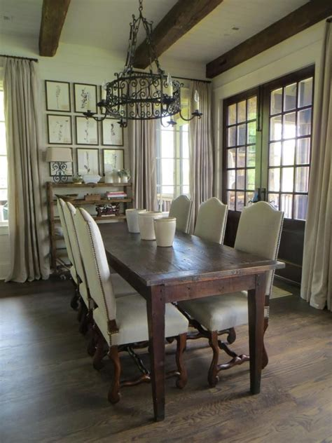 antique dining room setting french farm table vintage os de mouton chairs mallory smith interiors pinterest antique dining