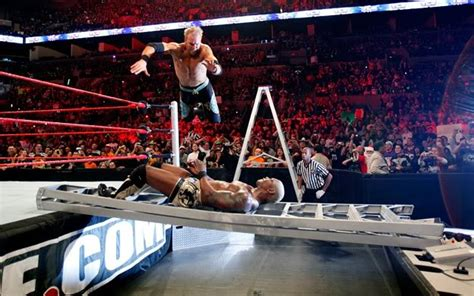 tables ladders and chairs ten of the greatest tables ladders and chairs matches in