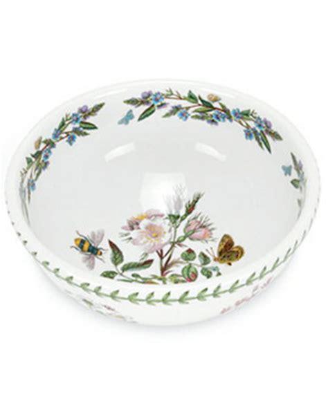 Botanic Garden Dishes Portmeirion Dinnerware 9 Quot Botanic Garden Salad Bowl China Macy S