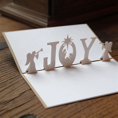 Laser Cut Pop Up Card Template by Aliexpress Buy 3d Nativity Handmade