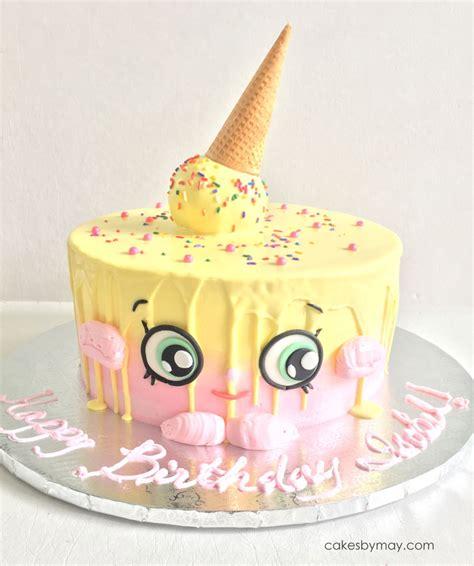Draping Tutorial Shopkins Ice Cream Cake Kate Cakecentral Com