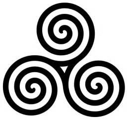 Triple spiral symbol filled clip art at clker com vector clip art