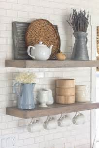 design for kitchen shelves best 25 floating shelves kitchen ideas on