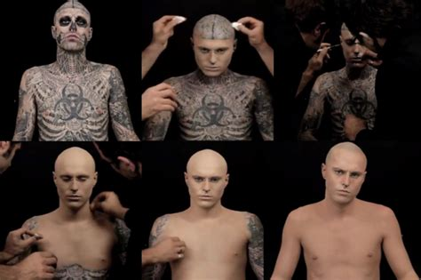 full body tattoo cover up makeup dermablend professional uncover zombie boy by malestandard