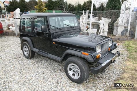 Jeep 4 0 Ho Specs 1995 Jeep Wrangler 4 0ho Automatic And Air From 1