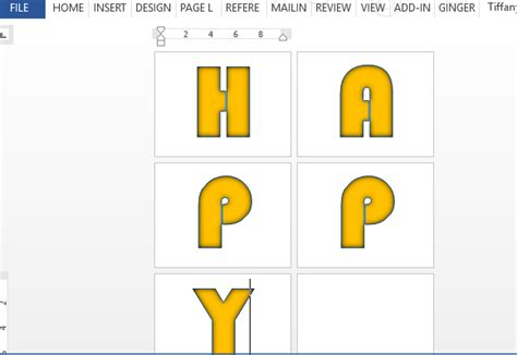 Banner Letters Numbers Template For Word Banner Letters And Numbers Templates