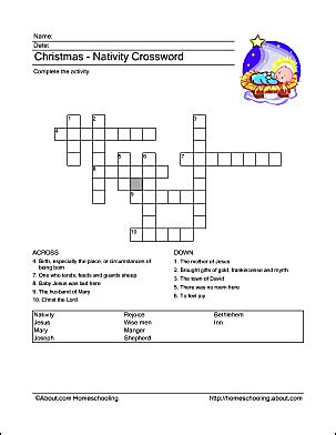 printable nativity puzzle christmas nativity wordsearch