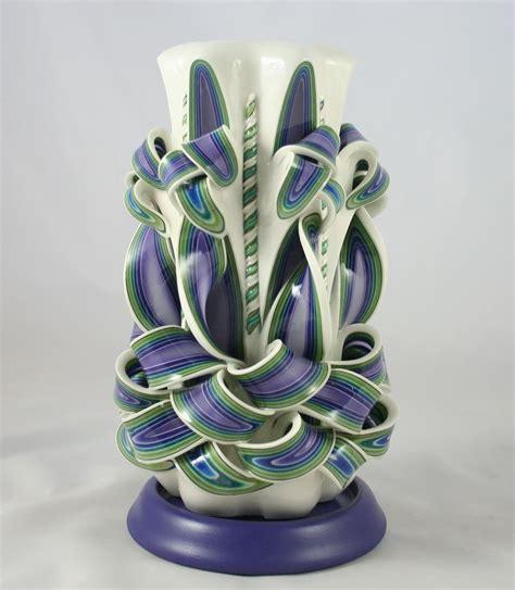 creare candele artistiche candele decorative artigianali in cera multistrato incisa